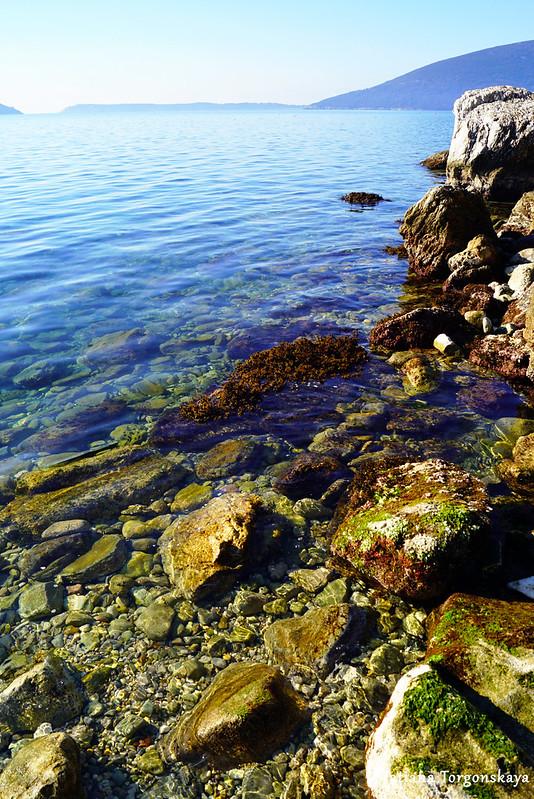 Обзор с дикого пляжа Савины
