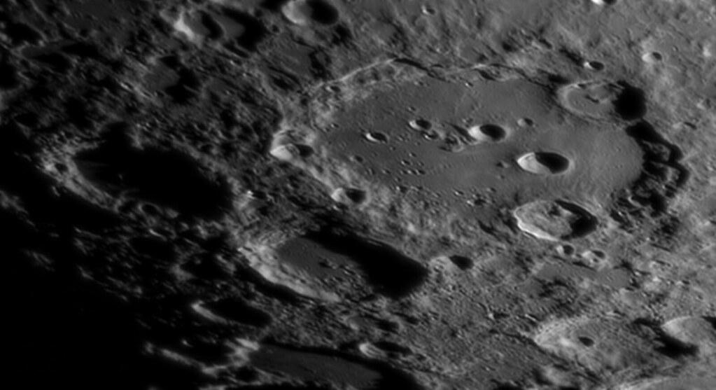 Moon - Clavius, Blancanus and Scheiner