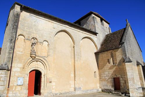 24 La Chapelle-Faucher - Eglise Notre-Dame de l'Assomption XII XV