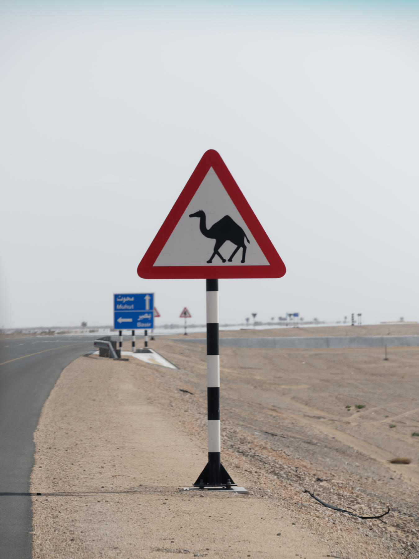 Road Sign, Oman
