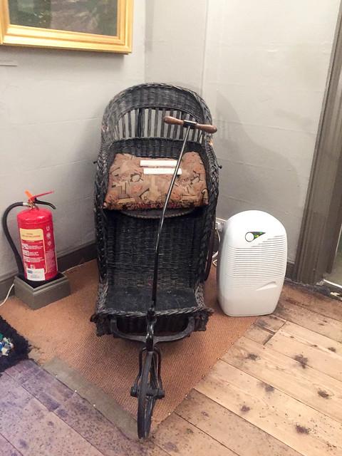 John Ruskin's Bath Chair, Brantwood, Coniston, Cumbria