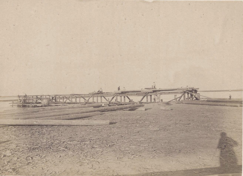 04. Амударья. Мост, левый берег, 30 сентября 1887