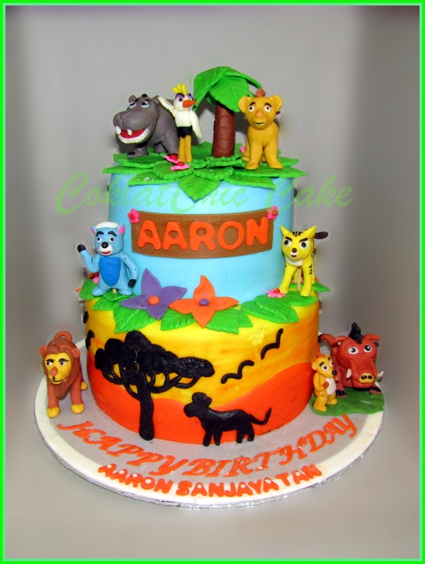 Cake Lion King AARON 15 / 12