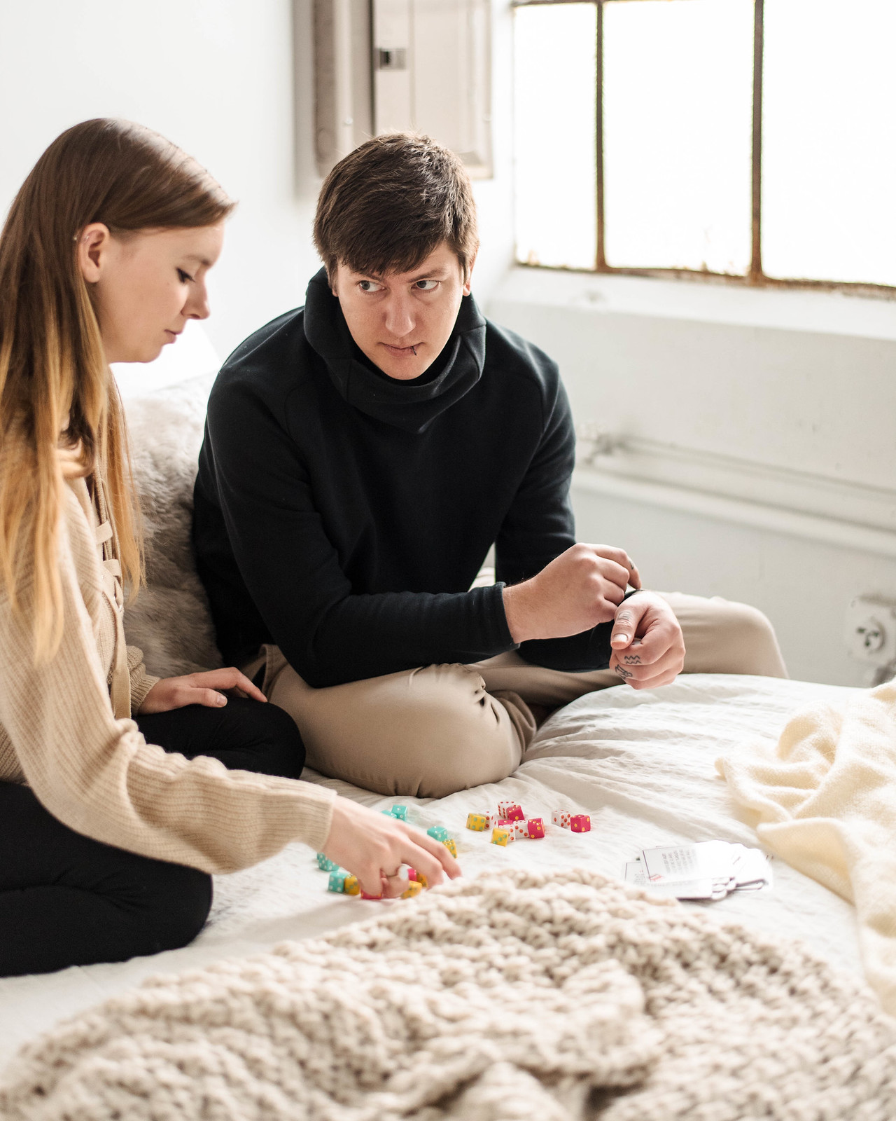 Board Game Couples Studio Session on juliettelaura.com