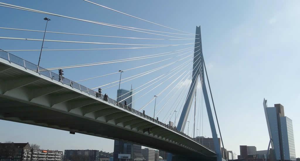 Rotterdam architecture, Erasmus Bridge | Your Dutch Guide
