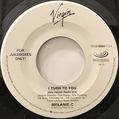 MELANIE C:I TURN TO YOU(LABEL SIDE-A)