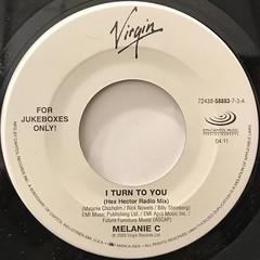 MELANIE C:I TURN TO YOU(LABEL SIDE-A)