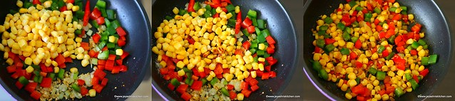 sweet corn fried rice 2