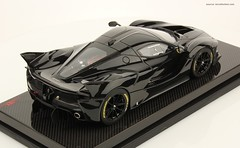 Ferrari FXX K 1:18 scale MR collection (full black)