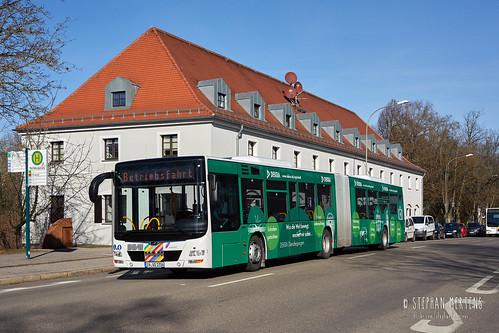 Stadtbus Ingolstadt MAN 1704