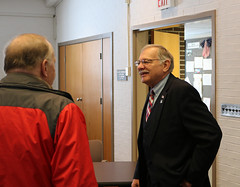 Rep. Simanski and First Selectman Kuhnly held office hours at the Granby Town Hall