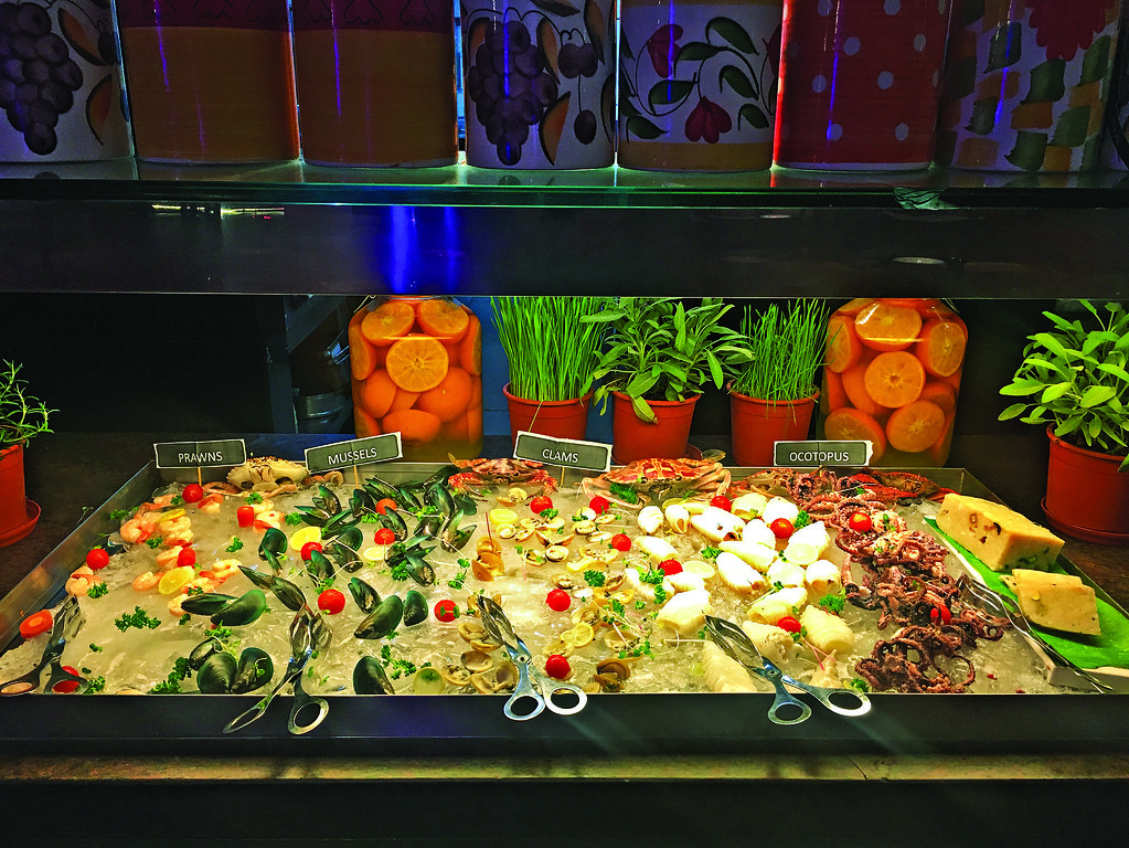 Seafood Display Counter