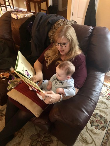 Story time: Grammy and Elijah