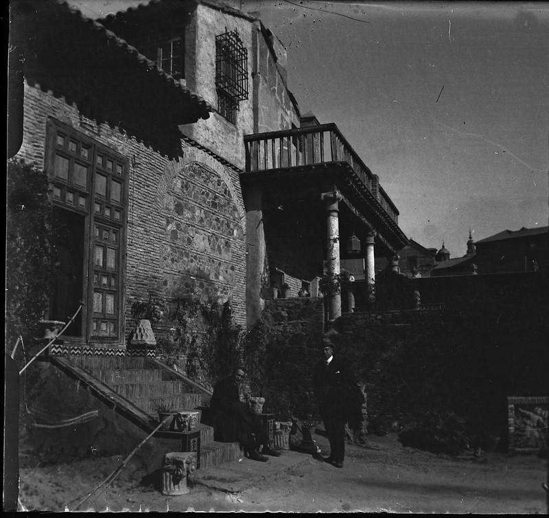 Museo del Greco de Toledo el 24 de febrero de 1918. Fotografía de Carles Batlle Ensesa © Ajuntament de Girona. CRDI (Carles Batlle Ensesa)