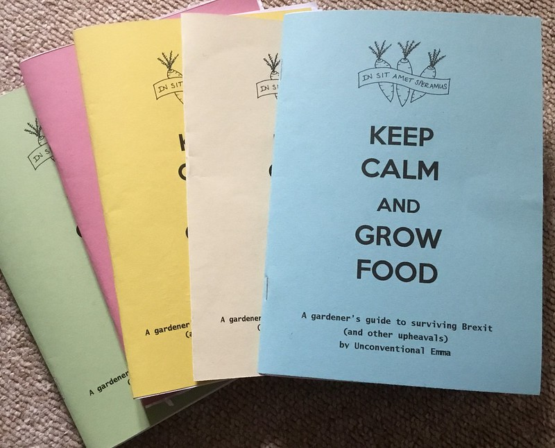 Keep Calm and Grow Food zine
