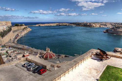 Valletta port