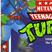 """MUTANT MILITARY 2"" TEENAGE MUTANT NINJA TURTLES ::  YANKEE DOODLE RAPH ..card backer ii (( 1992 ))"