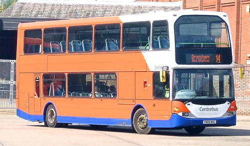 YN05 WGC 'Centrebus' No. 902. Scania N94UD / East Lancs. on Dennis Basford's railsroadsrunways.blogspot.co.uk'