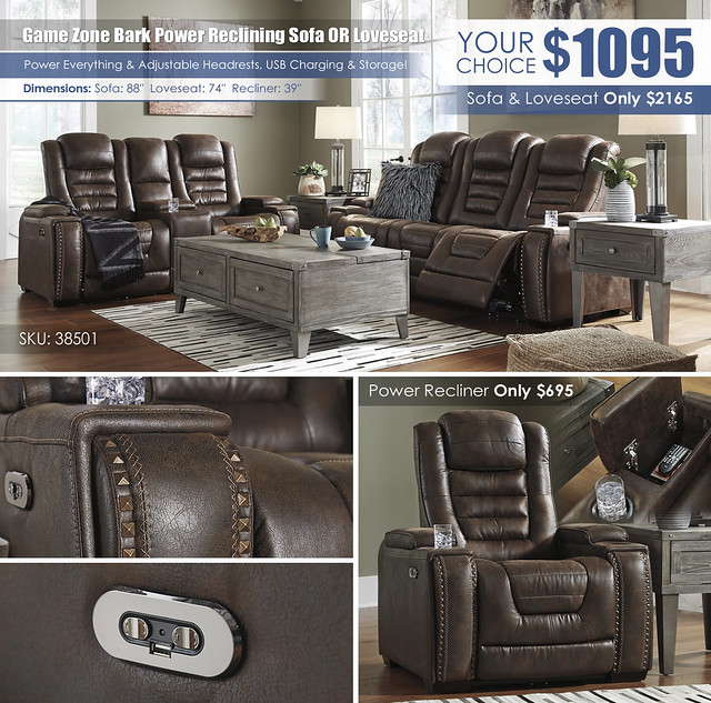 Game Zone Bark Power Reclining Sofa OR Loveseat_wInsert_38501-15-18-T904-PILLOW_UpdatedLayout
