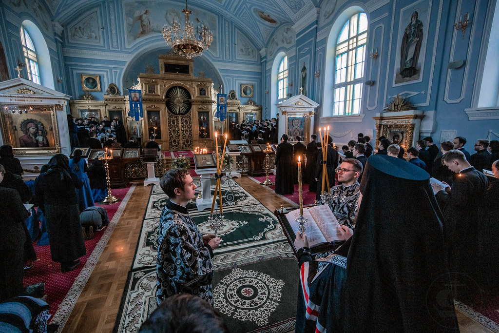 14 Марта 2019, Четверг Первой седмицы Великого поста / 14 March 2019, Thursday of the 1st Week of Great Lent