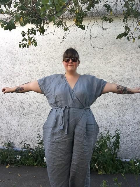 Zadie Jumpsuit Linen 2