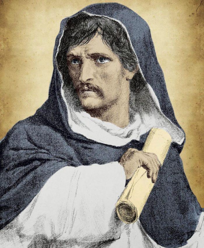 Giordano Bruno, portrait