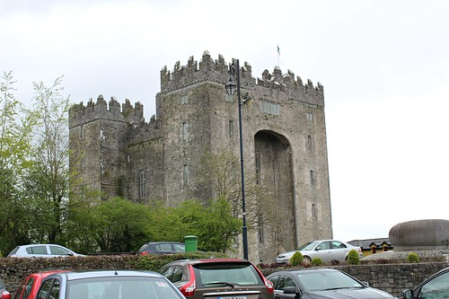 One last view of Bunratty Castle before our shopping trip