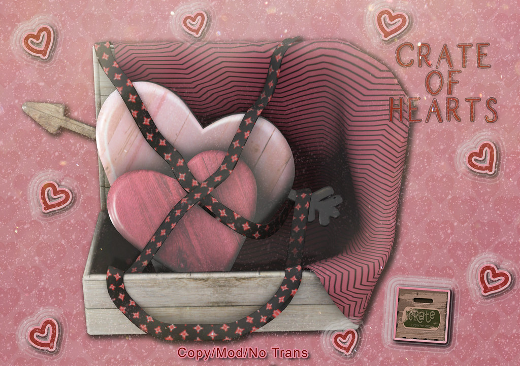 crate of Hearts for Saturday Sale Out Now!
