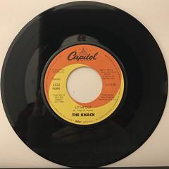 THE KNACK:MY SHARONA(RECORD SIDE-B)