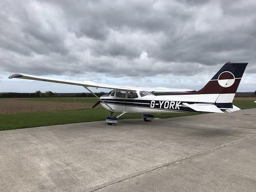 G-YORK, Cessna 172 (1354), Kilrush 24th March 2019