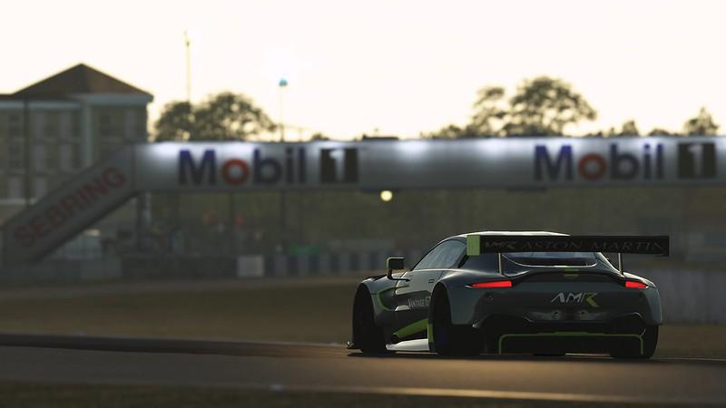 rFactor 2 - 2019 Aston Martin Vantage GT3 at Sebring
