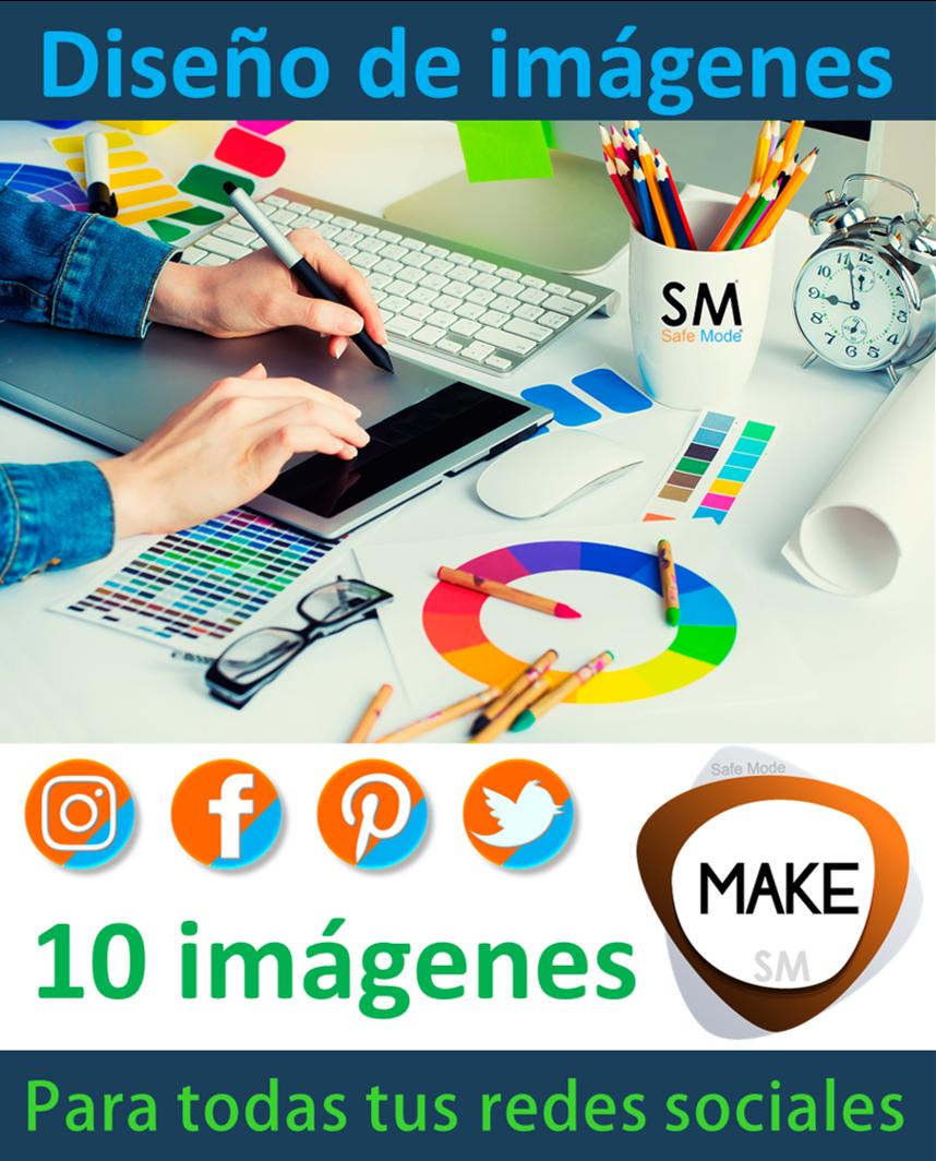 Diseño de imágenes para redes sociales 10 imágenes