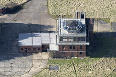 RAF Sculthorpe control tower - aerial image
