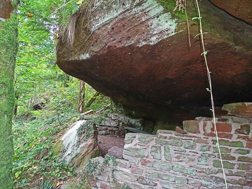 L'aménagement de la grotte Mencke