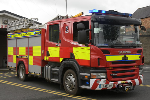 Monaghan Fire Authority 2011 Scania P320 Browns WrL 11MN709