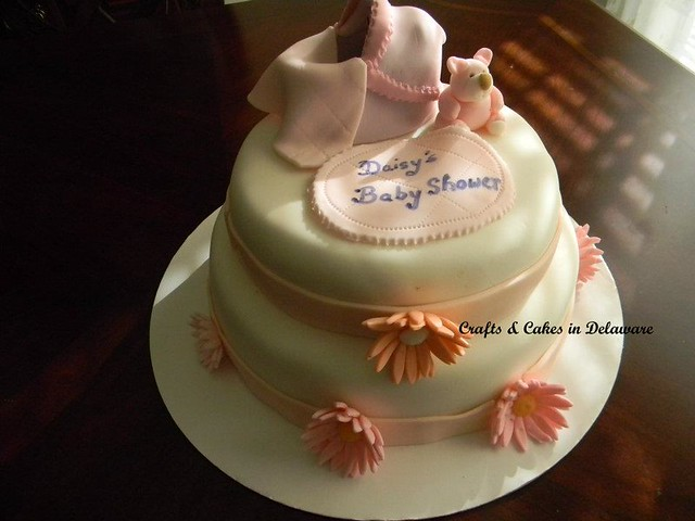 Baby Shower Cake by Crafts & Cakes in Delaware