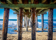 Under the Cayucos Pier No 2