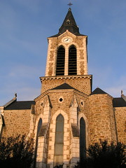 20080912 35514 1013 Jakobus Livinhac Kirche Turm Uhr