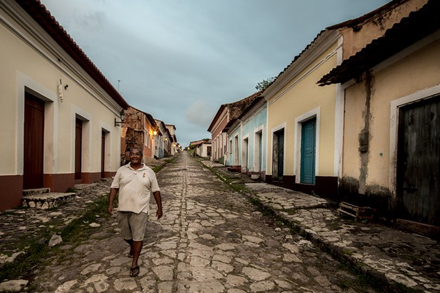 Ladeira do Jacaré, no centro da cidade de Alcântara, que concentra grande parte dos quilombolas do país - Créditos: Foto: Divulgação