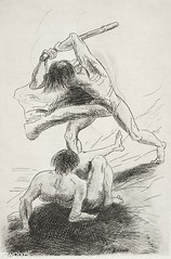 Cain and Abel by Odilon Redon
