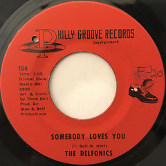 THE DELFONICS:READY OR NOT HERE I COME(CAN'T HIDE FROM LOVE)(LABEL SIDE-B)