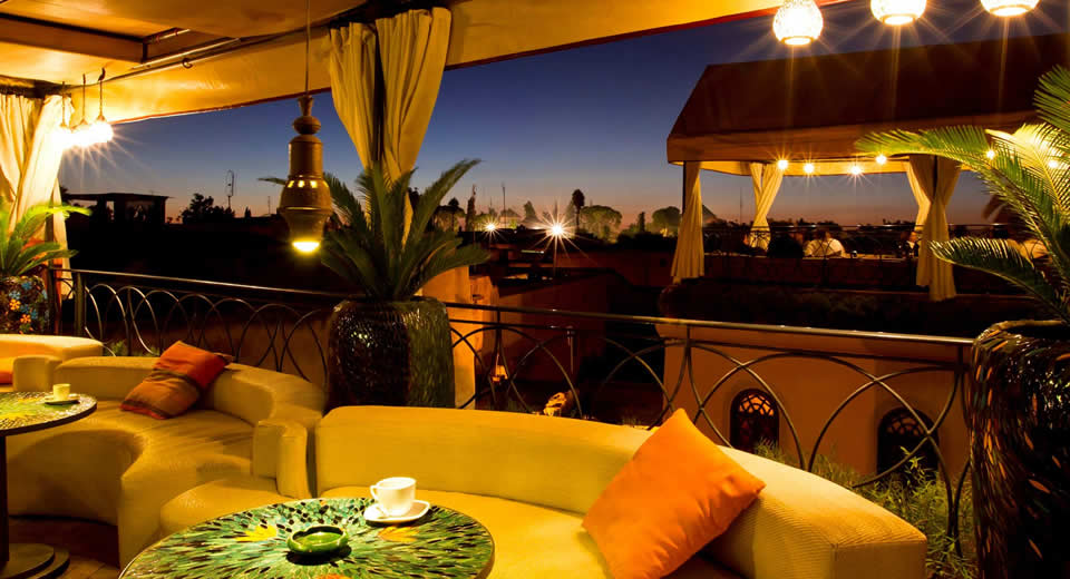 Restaurants Marrakech: Café Arabe (foto met dank aan Café Arabe) | Mooistestedentrips.nl