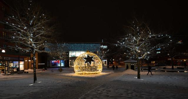 Square in Örebro City