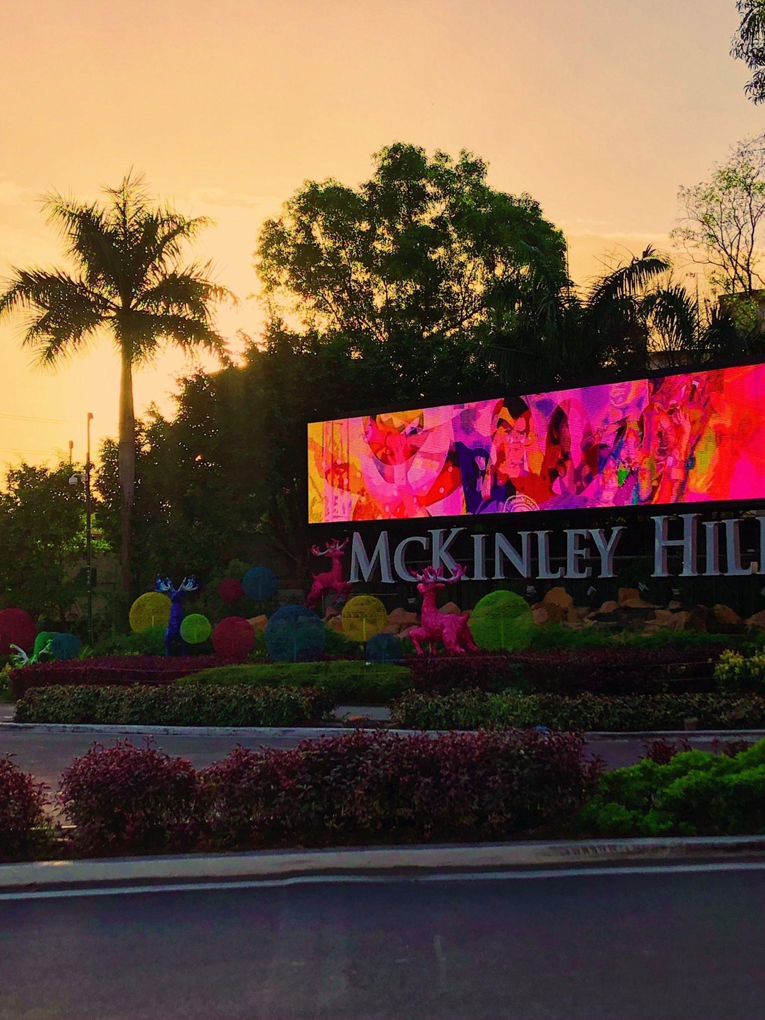 Running in McKinley Hill - 7 am
