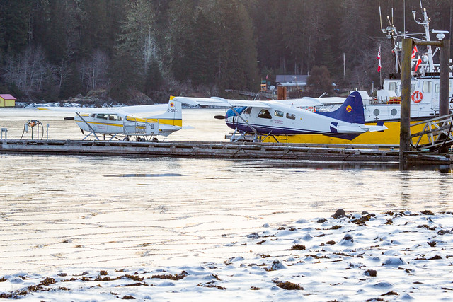 Frozen Seaplanes