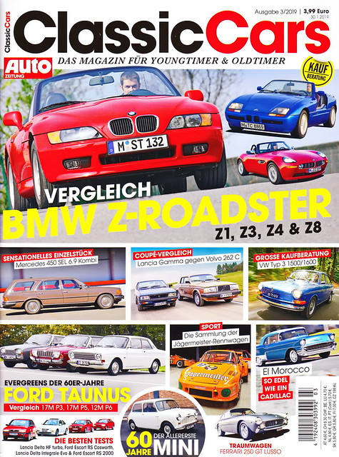 Auto Zeitung - Classic Cars 3/2019