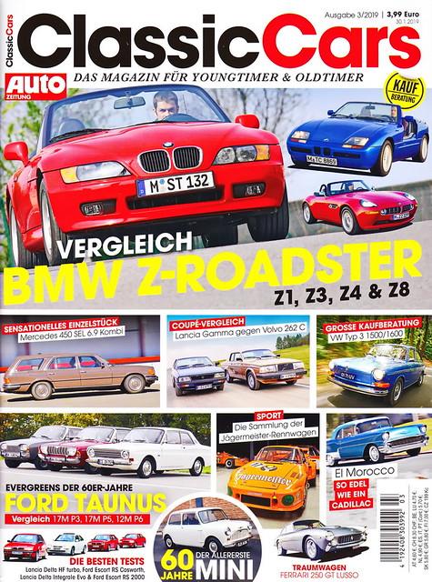 Auto Zeitung - Classic Cars 3/2019