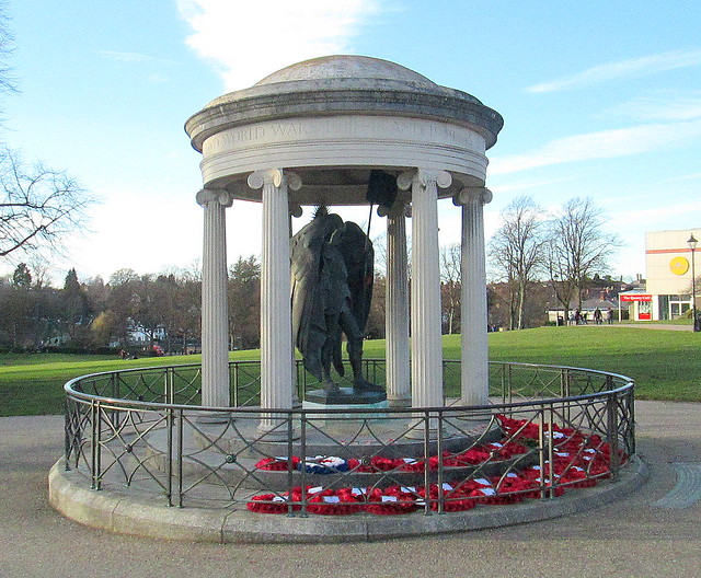 Shropshire War Memorial, Shrewsbury 4