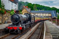 Steam Locomotive Wales