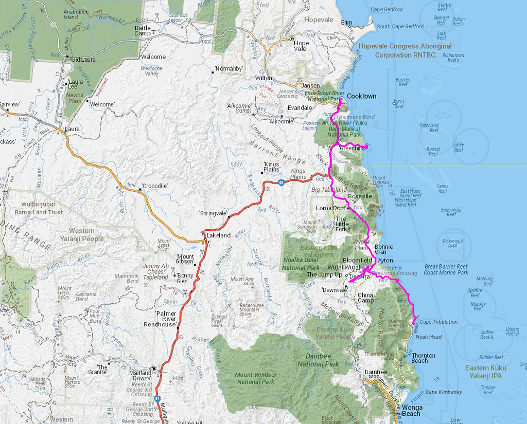 Cape trib to Cooktown